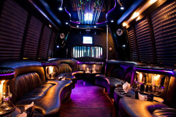 15 person party bus rental Fort Wayne