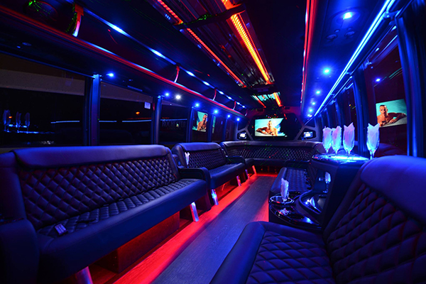 40 passenger party bus rental Fort Wayne