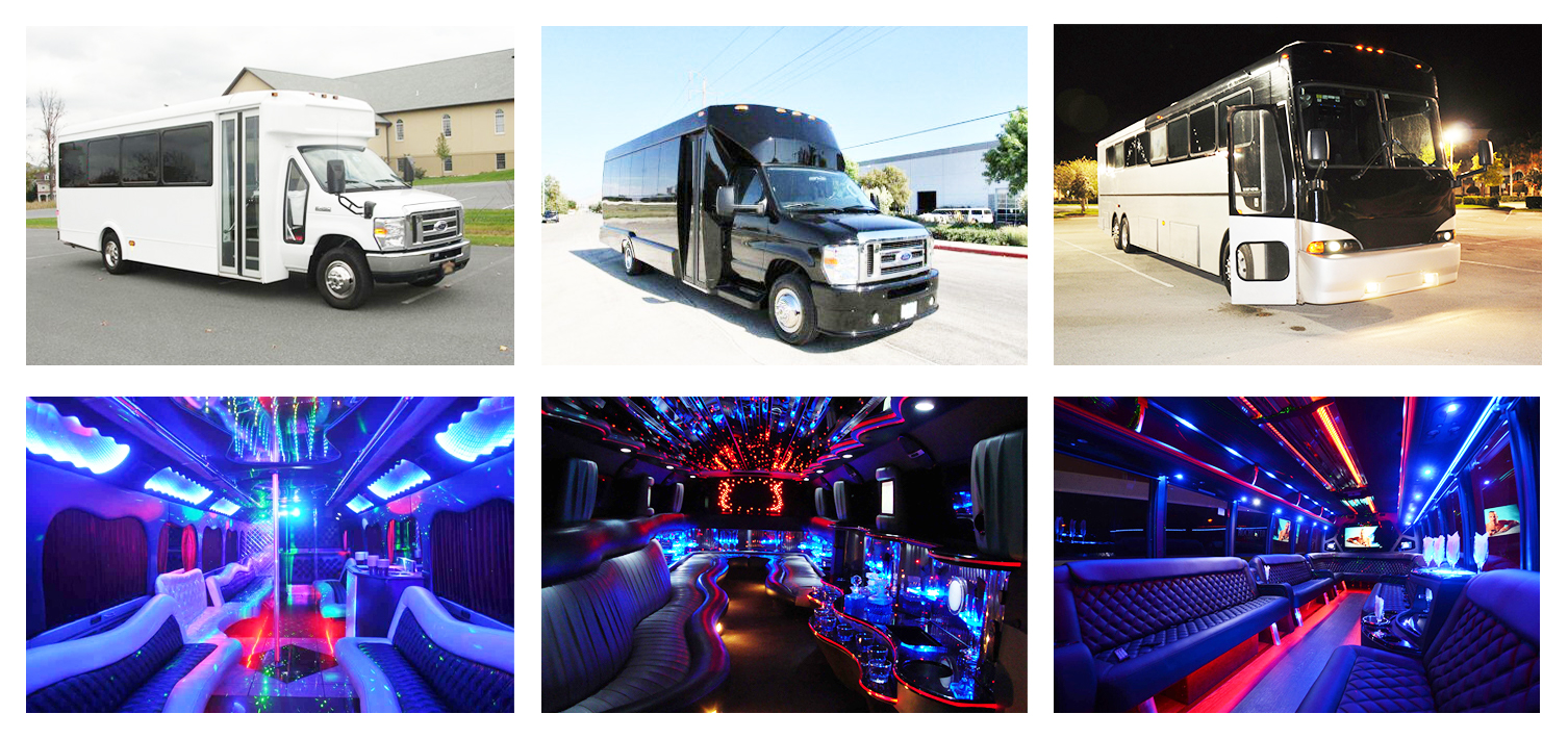 Party Bus Fort Wayne IN 11 Cheap Party Buses Limo Service