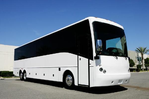 Fort Wayne 50 Passenger Charter Bus